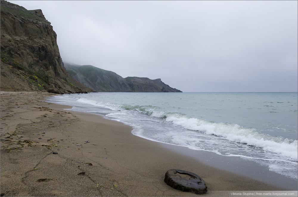 туманное море Коктебеля