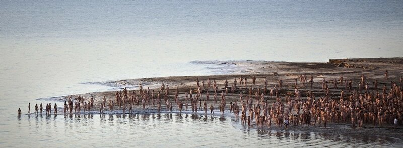 Spencer Tunick Creates