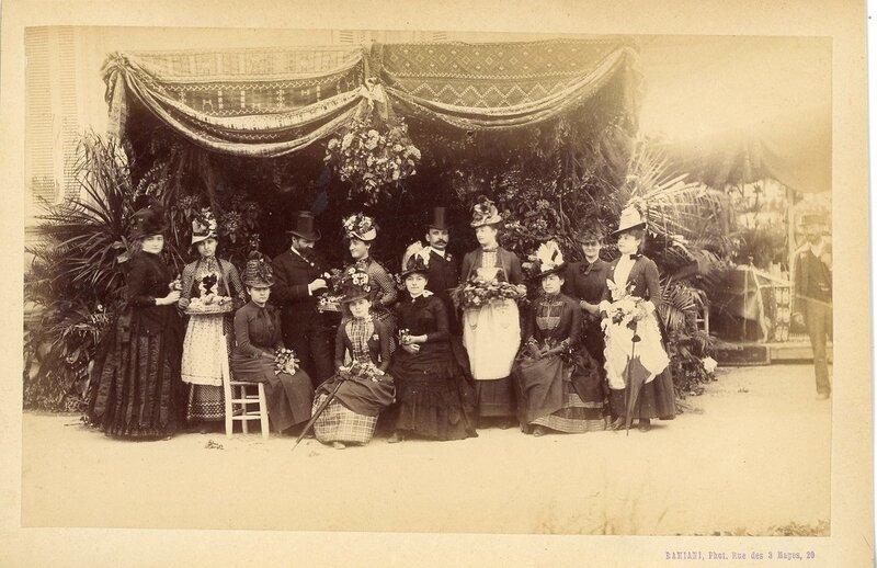 Люди Марселя в 1890-х