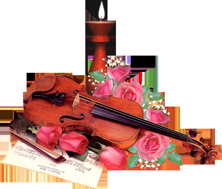 Анимации, открытки со скрипкой с днем рождения