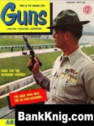 Guns Magazine 1959-01 pdf 10,92Мб