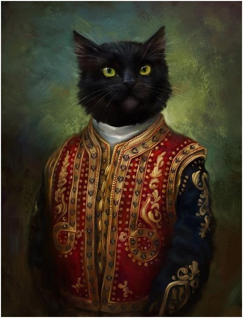 Коты Эрмитажа
