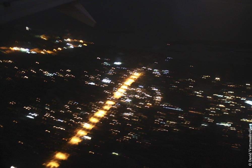 Конго ДР, перелет в Киншасу, посадка