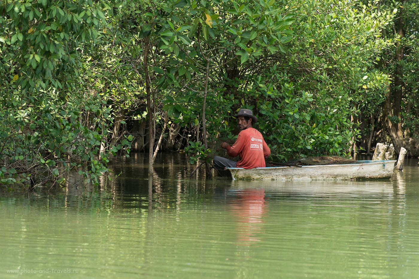 Фотография 13. Рыбацкая деревня в Тайланде. Как поехать на экскурсию самостоятельно. Маньяк из фильма ужасов (320, 140, 9.0, 1/160)