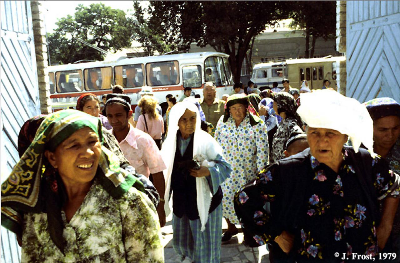 1979. Уличная сцена в Самарканде