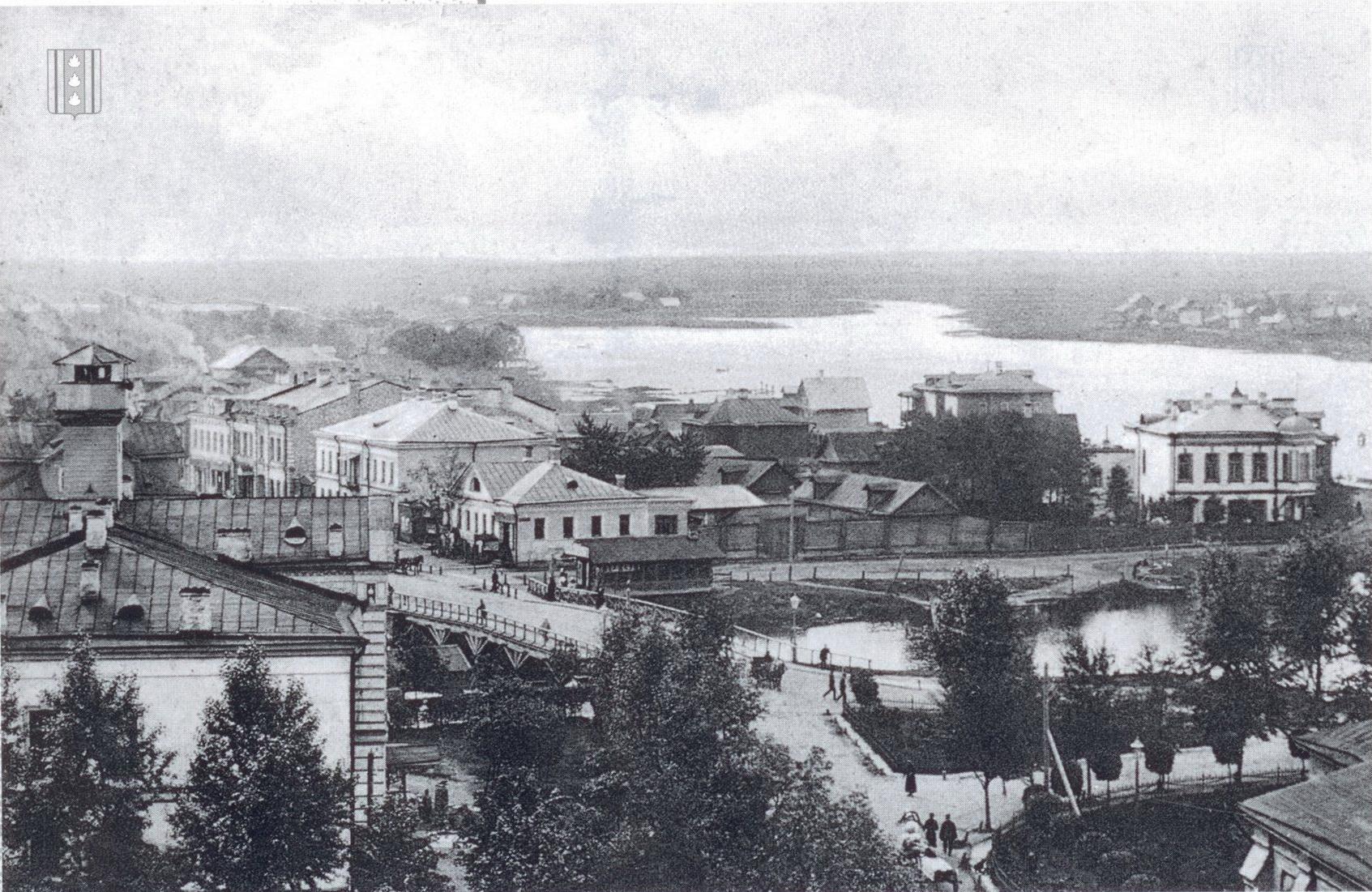 Колпино. Вид с собора Святой Троицы на Никольскую улицу