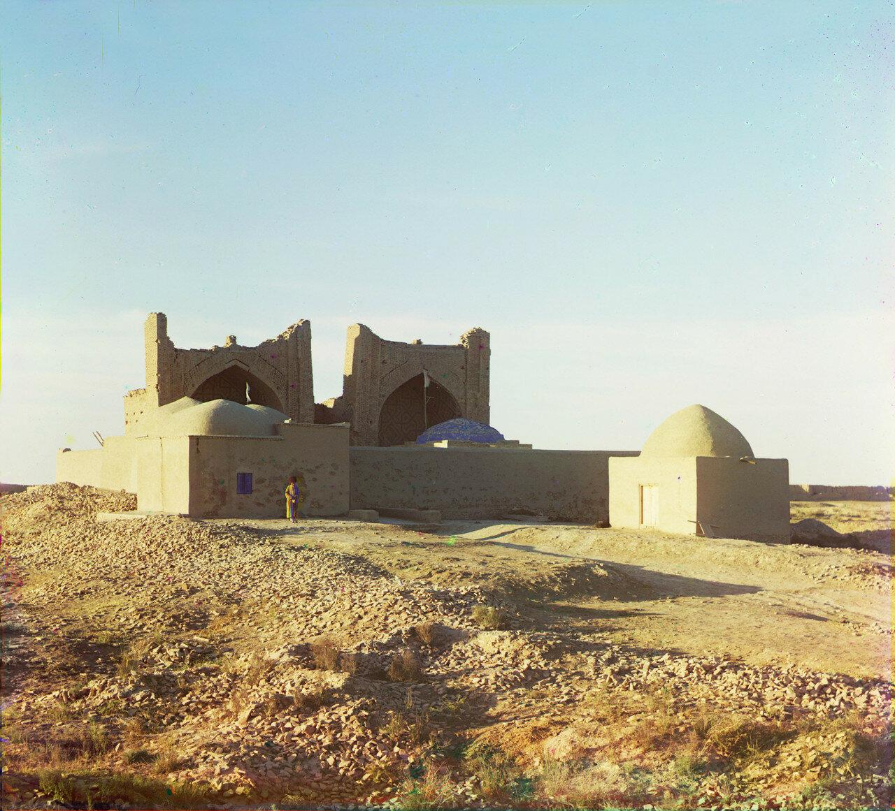 Древний Мерв. Гробницы асхабов Бурейды и Гифари