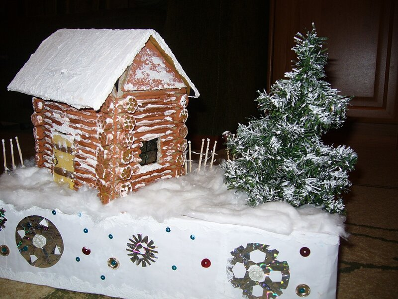 Поделки на тему зима новый год
