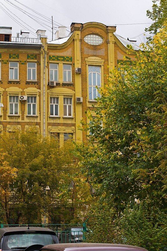 Памятник архитектуры. Доходный дом С.Н. Павлова. 1906 г.