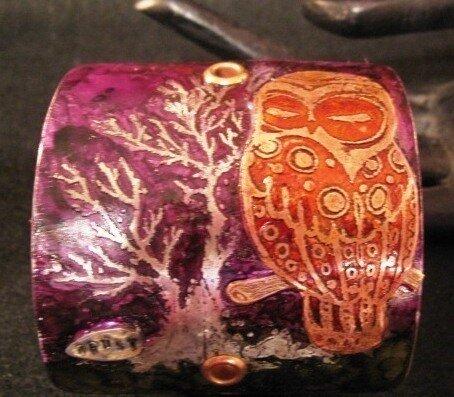 роспись браслетов витражными красками