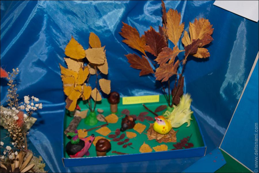 Осенние листья из пластилина. Поделки Pinterest Осенние 11