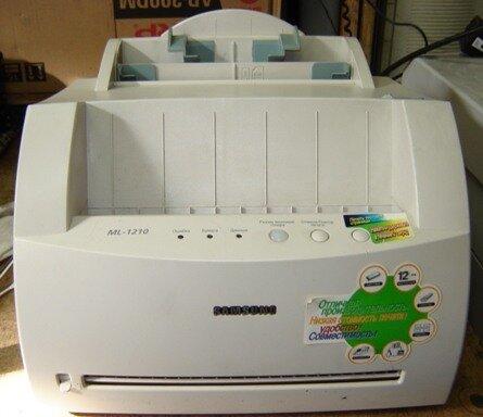 скачать драйвер принтер samsung ml-1210