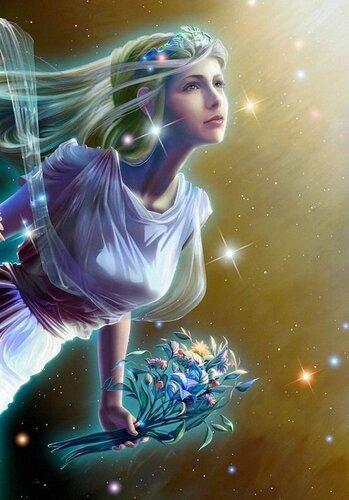 "Схема вышивки  ""Богиня Лада "": схема."