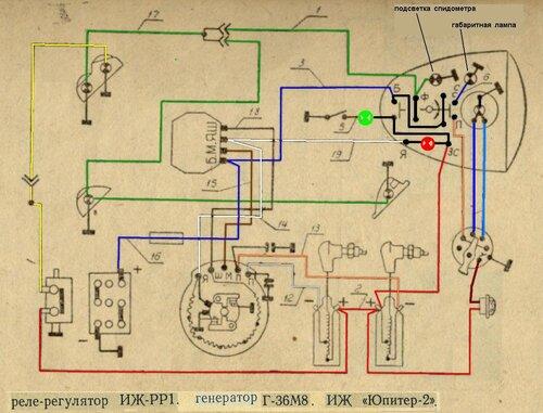 электросхема зарядки иж юпитер - Всемирная схемотехника.