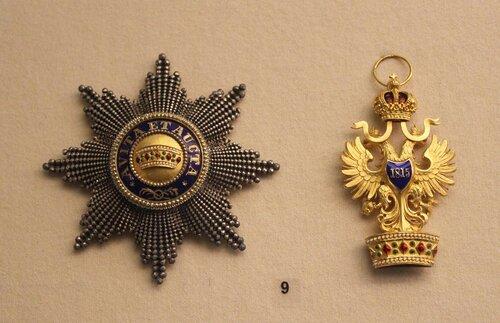 Звезда и знак ордена Железной короны