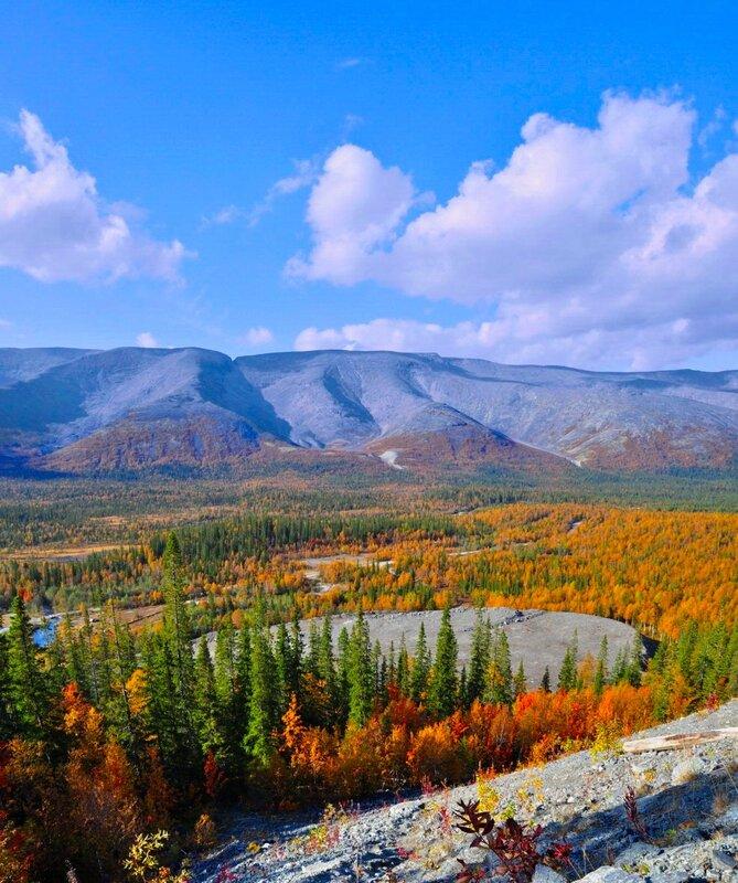 Панорама Хибин 1