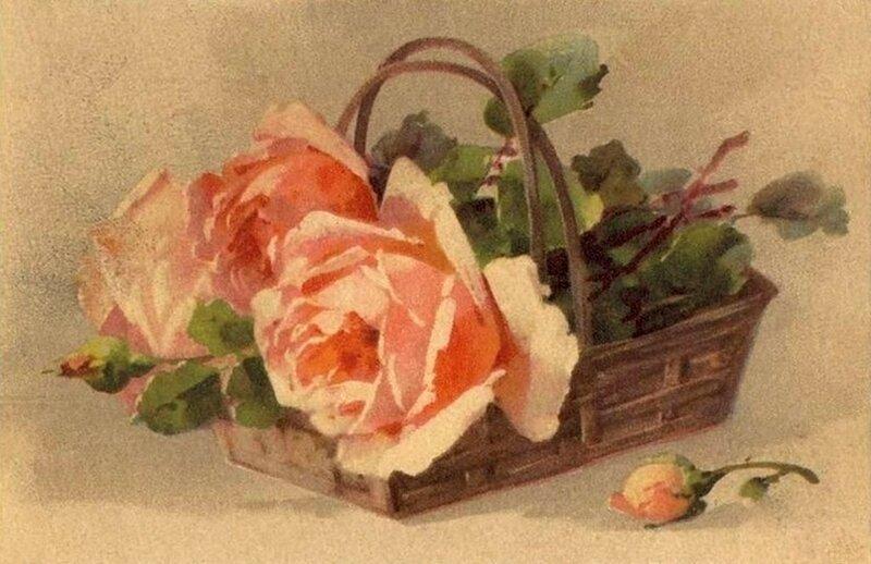 Картинки цветы старинные 5