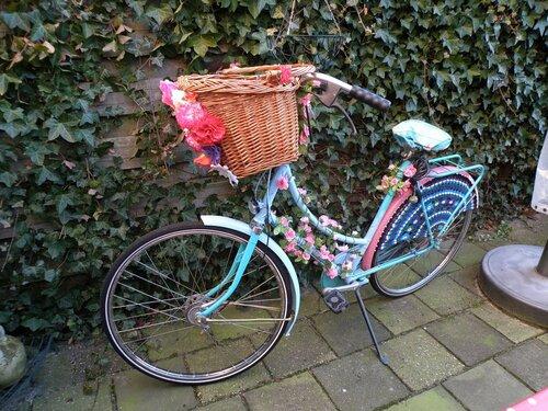 Гламурный велосипед