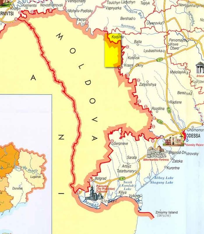 Карта , Ципово , Молдова
