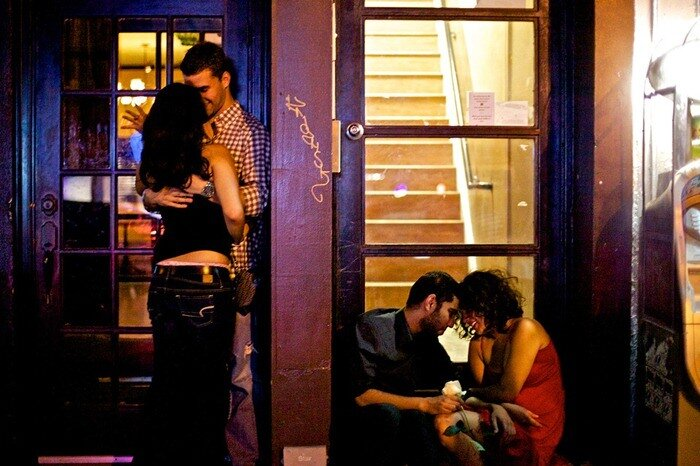 ночные улицы нью йорка