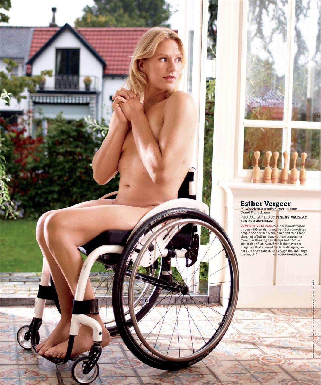 Эстер Вергеер / Esther Vergeer - ESPN Magazine Body Issue 18 october 2010