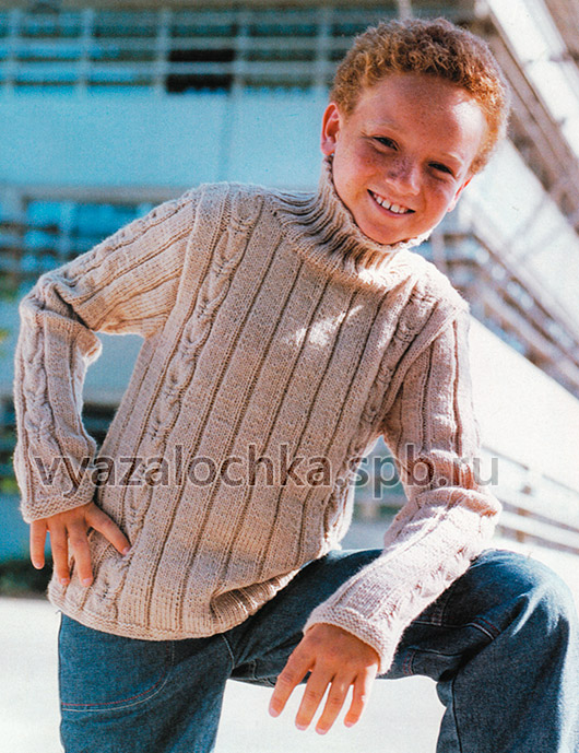 Свитер на мальчика 6-14 лет