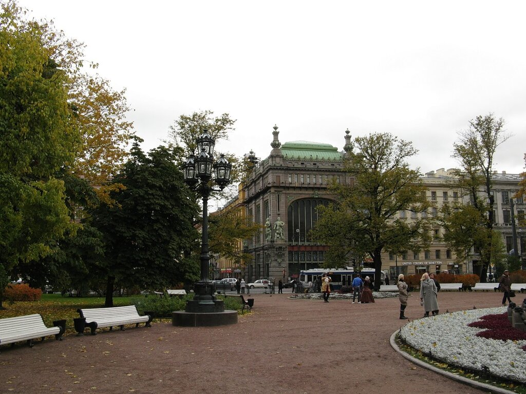 St. Petersburg in October