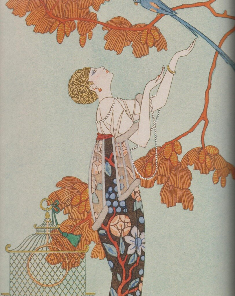 Art deco By Georges Barbier