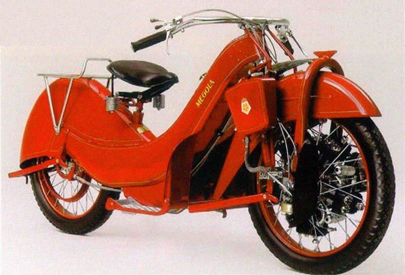 Motorcycles Megola