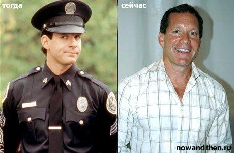 выбор где актеры полицейской академии волну взбирается, словно
