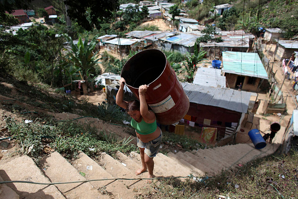 Venezuela Water Shortages