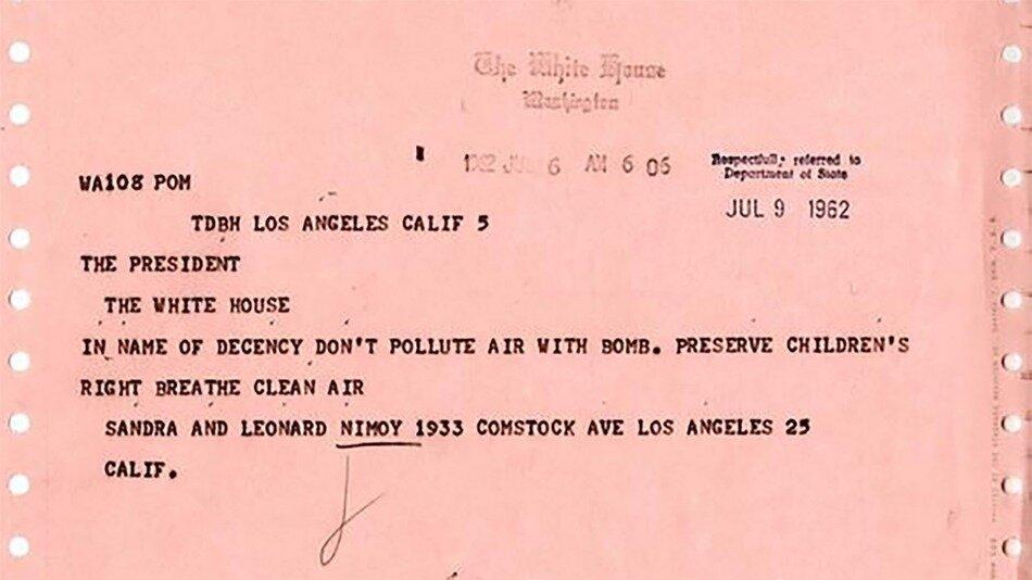 Leonard Nimoy's telegram to JFK.jpg