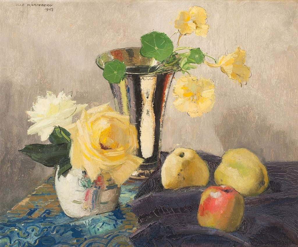 30-1943_Натюрморт с розами и яблоками_50 x 61_д.,м._Частное собрание.jpg