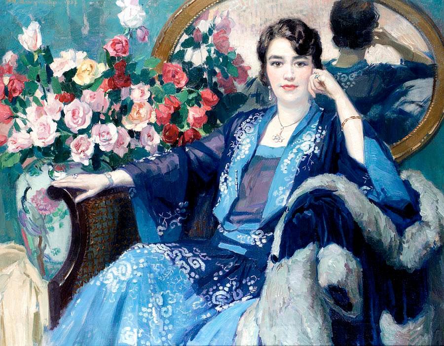 Филипп Свинкоп (Philippe Swyncop), 1878-1949. Бельгия_1927_Отдых_jpg