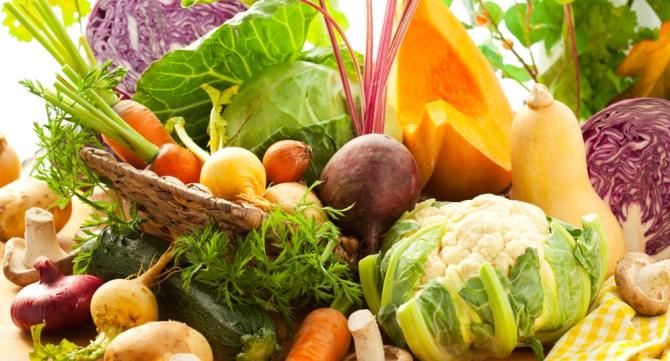 осенние продукты питания