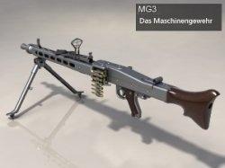 Das Maschinengewehr MG3