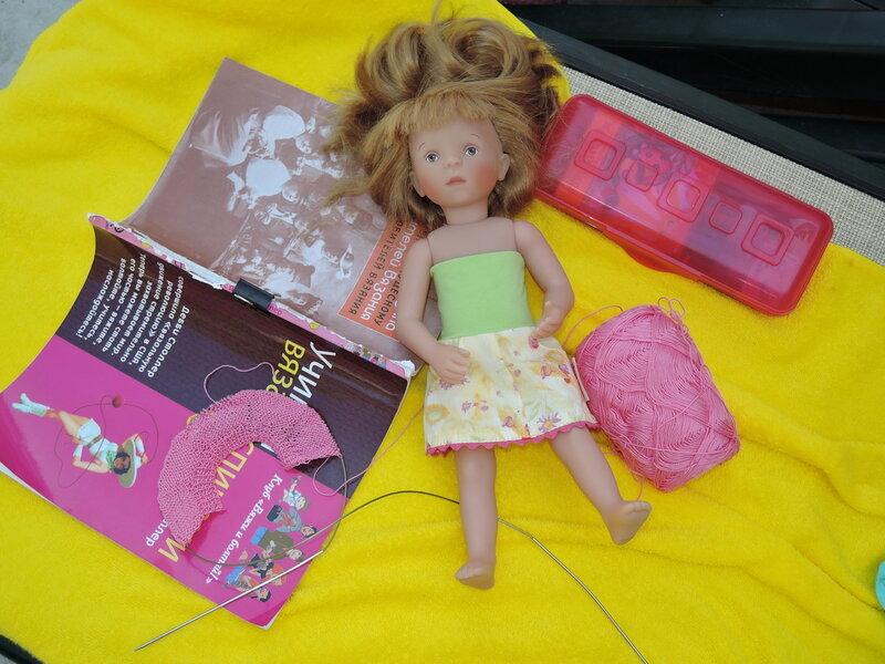 Как сделать шарниры на куклу