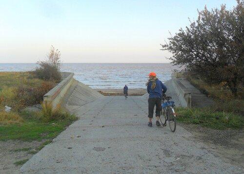 Сентябрь, велопоход, Азовское побережье, 2014 год