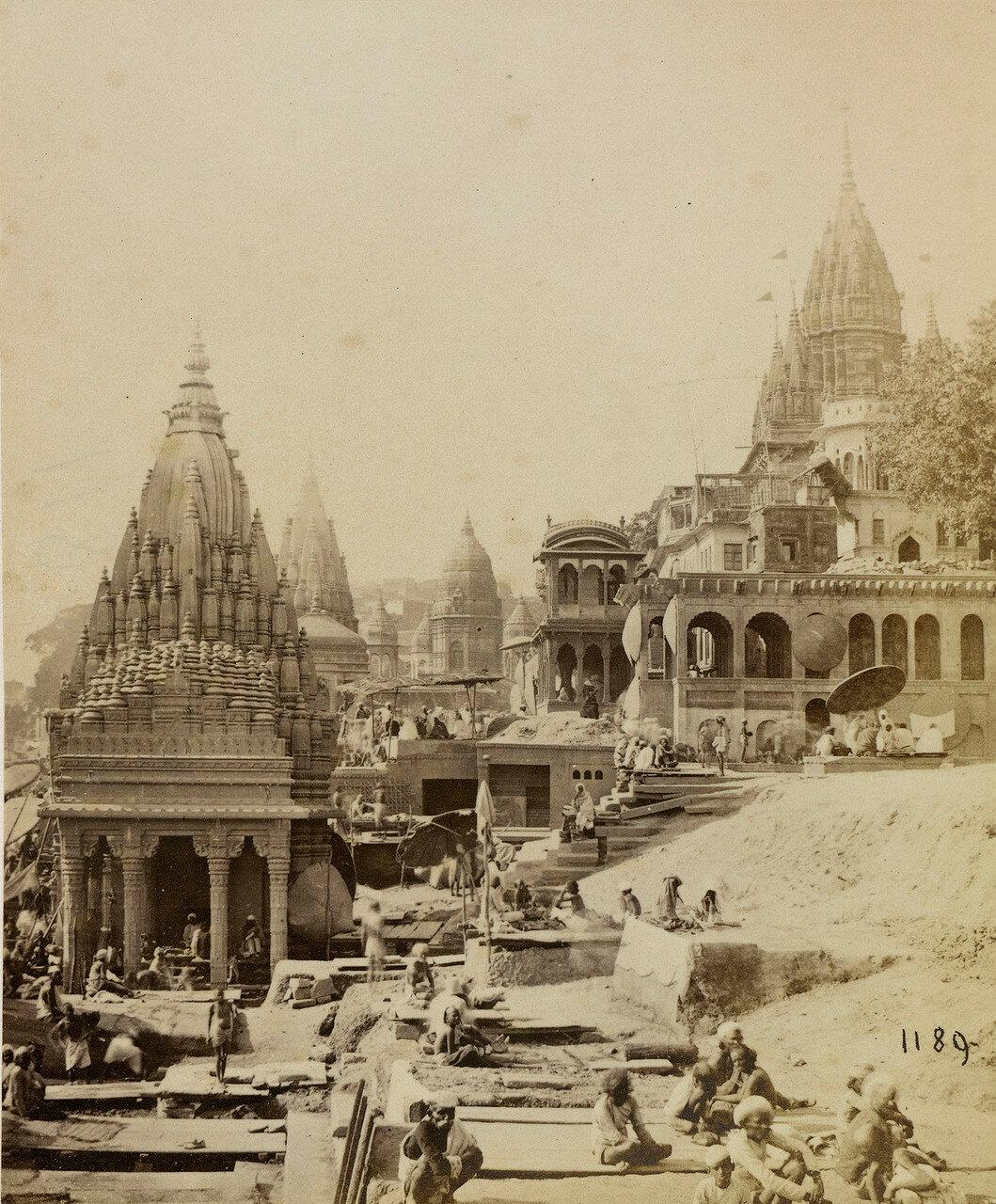 16. Вишнупад и другие храмы, Бенарес