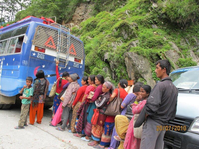 Тибетские странствия-6. Люди и лица. Непал.