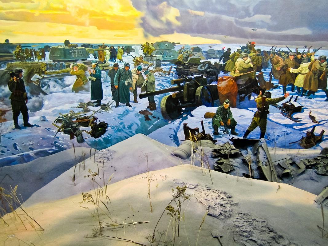 Сталинградская битва. Соединение фронтов