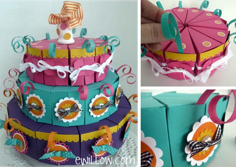 Сделать торт из картона своими руками