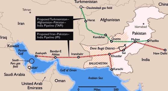 """газопровода """"Туркмения"""