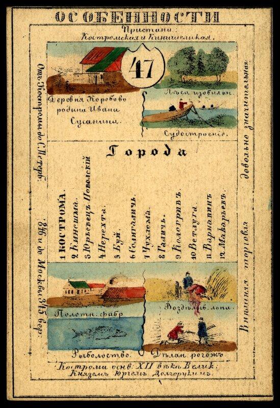 Костромская губерния - сувенирная открытка