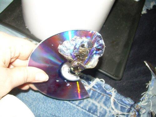 Как сделать диск для цветков 466