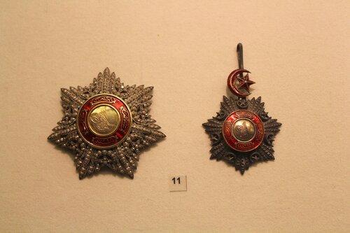 Звезда и знак ордена Меджидие