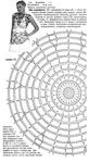 Паук схема для вязания 9