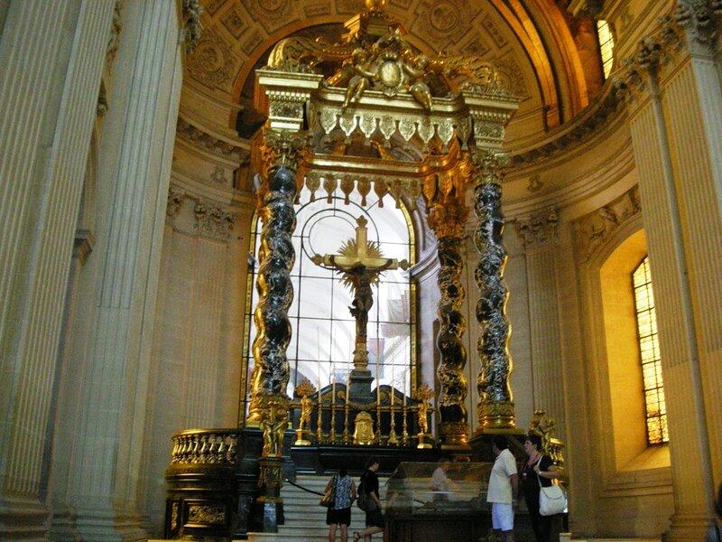 Париж, собор Инвалидов. Балдахин