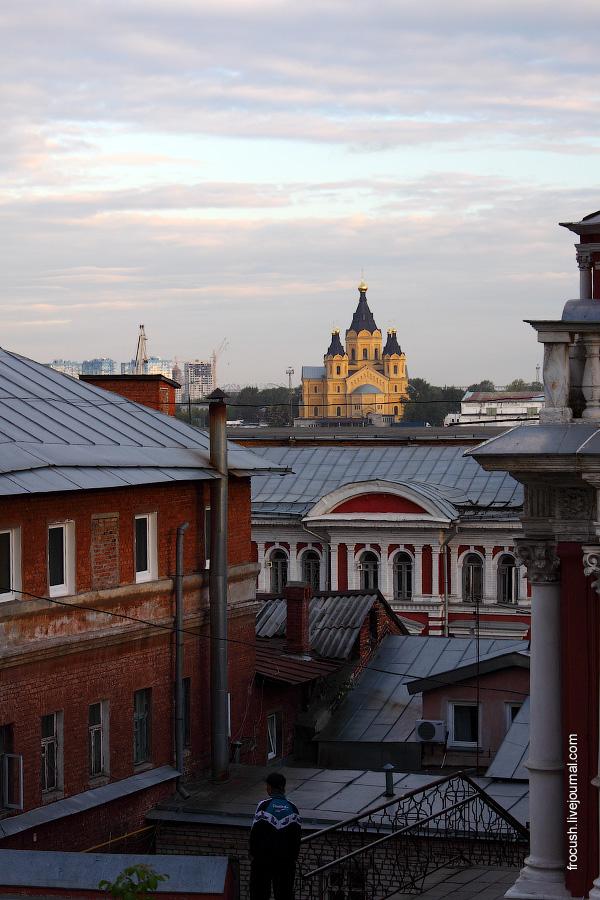 Александро-Невский собор. Вид с Суетинской улицы