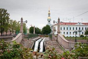Ремонт (Красногвардейский мост, Никольский собор, труба)